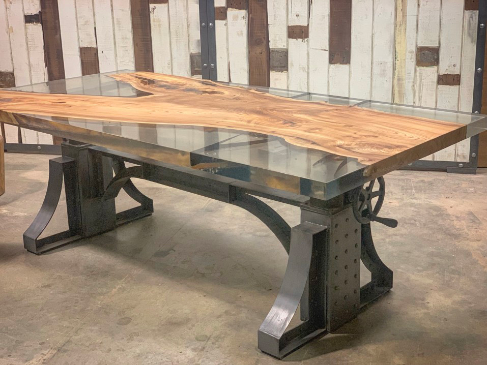 epoksidinės dervos stalas, epoksidinė derva, epoksidinis stalas